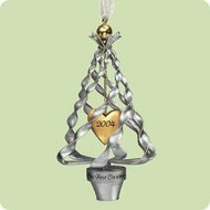 2004 1st Christmas Together - Tree heart Hallmark ornament