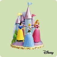 2004 Disney - Three Beautiful Princesses Hallmark ornament