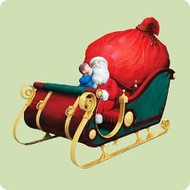 2004 Polar Express - First Gift Of Christmas Hallmark ornament