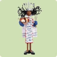 2004 Queen - Cuisine - AF Hallmark ornament