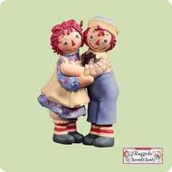 2004 Raggedy Ann and Andy Hallmark ornament