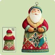 2004 Santas From Around The World - U.S. Hallmark ornament