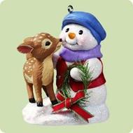 2004 Snow Buddies #7 - Fawn Hallmark ornament