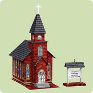 2004 Town and Country #6F - Church Hallmark ornament