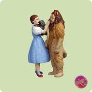 2004 Wizard Of Oz - Dorothy And Lion Hallmark ornament