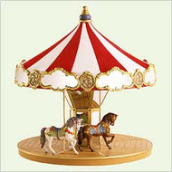 2004 Carousel Display Stand Hallmark ornament