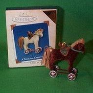 2003 A Pony For Christmas #6 - Colorway Hallmark ornament