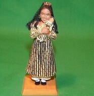 2002 American Girl - Josefina Hallmark ornament