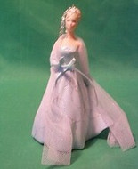 2001 Barbie - Club Porcelain Hallmark ornament
