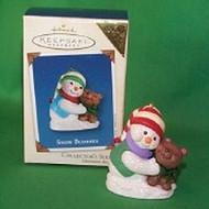 2002 Snow Buddies #5 - Bear - Colorway Hallmark ornament