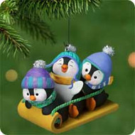 2001 Penguins At Play Hallmark ornament
