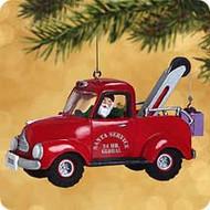 2002 Here Comes Santa #24 - Tow Truck Hallmark ornament