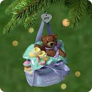 2001 Baby's 1st Christmas - Porcelain Hallmark ornament