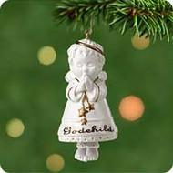 2001 Godchild Hallmark ornament