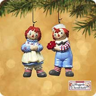 2002 Raggedy Ann And Andy - Miniature