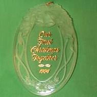 1998 1st Christmas Together - Acrylic
