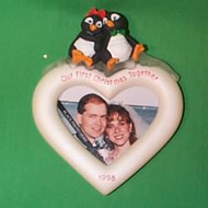 1998 1st Christmas Together - Photo