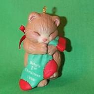 1998 Baby's 1st Christmas - Stocking