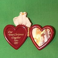 1997 1st Christmas Together - Photo