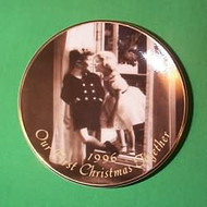 1996 1st Christmas Together - Plate