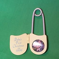 1996 Baby's 1st Christmas - Photo