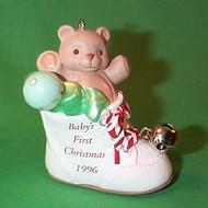 1996 Baby's 1st Christmas - Shoe