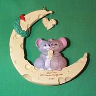 1996 1st Christmas Together - Moon