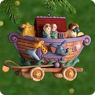 2000 Safe In Noah's Ark Hallmark Ornament