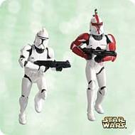 2003 Star Wars - Mini Clone Troopers Hallmark ornament