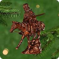 2000 Old West #3F - Mountain Man Hallmark Ornament