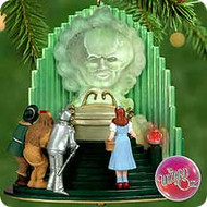 2000 Wizard Of Oz - The Great Oz Hallmark Ornament