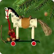 2000 A Pony For Christmas #3 Hallmark Ornament