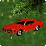 2000 Classic Cars #10 - Pontiac GTO Hallmark Ornament
