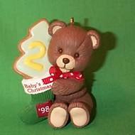 1998 Baby's 2nd Christmas - Bear