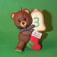 1996 Child's 3rd Christmas - Bear