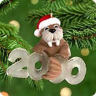 2000 Cool Decade #1 - Walrus Hallmark Ornament