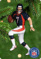2000 Football #6 - John Elway Hallmark Ornament