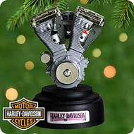 2000 Harley Engine Hallmark Ornament