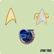 2004 Star Trek Mini Insignias