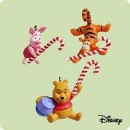 2004 Winnie The Pooh - Candy Cane Trio