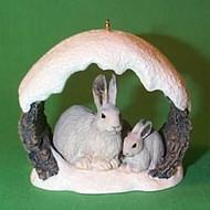 1997 Majestic Wilderness #1 - Snow Rabbits