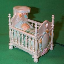 1992 Babys 1st Christmas - Lighted