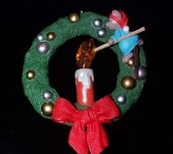 1990 Chris Mouse #6 - Wreath
