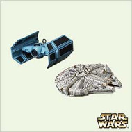 2005 Star Wars - Miniatures - Set of 2