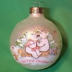 1989 1st Christmas Together - Ball