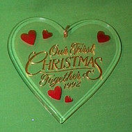 1992 1st Christmas Together - Acrylic