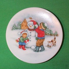 1991 Plate #5 - Let It Snow