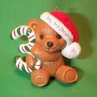 1989 Childs 3rd Christmas - Bear