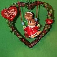 1989 1st Christmas Together - Wreath