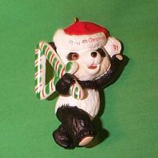 1991 Childs 4th Christmas - Bear